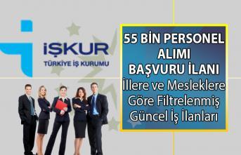 İŞKUR'da 1 Temmuz'da KPSS Şartsız en az ilköğretim, lise, ön lisans ve lisans mezunları için yayınlanan güncel iş ilanları!