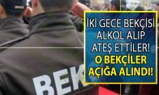İstanbul'da havaya ateş eden iki bekçi açığa alındı!