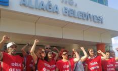 """İzmir Aliağa Belediyesi'nde İşten Çıkarılan İşçilerin """"İşimizi Geri Verin"""" Eylemi 65'inci Gününe Girdi!"""