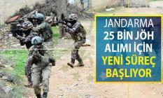 Jandarma 25 Bin Uzman Erbaş (JÖH) Alımı İçin Yeni Süreç Başlıyor
