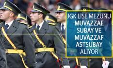 Jandarma Genel Komutanlığı (JGK) Lise Mezunu Muvazzaf Subay Ve Muvazzaf Astsubay Alım İlanı Yayımladı