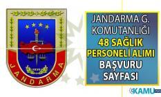 Jandarma Genel Komutanlığı'na en az lise mezunu 48 sağlık personeli alımı yapılacaktır