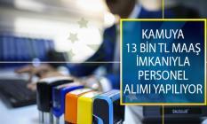 Kamuya 13 Bin 512 TL Maaş İmkanıyla Sözleşmeli Bilişim Personeli Alımı Yapılıyor! İlan DPB'de Yayımlandı