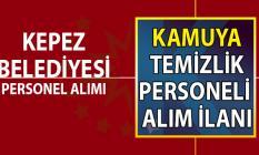 Kepez Belediyesi ilkokul mezunu kadrolu işçi alımı ilanı
