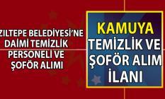 Kızıltepe Belediyesi daimi olarak temizlik personeli ve şoför alımı başvuru ilanı