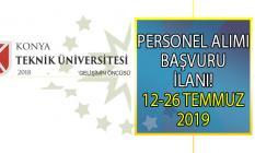 Konya Teknik Üniversitesi 2 Bilişim personeli ve 23 öğretim üyesi alımı yapacaktır!