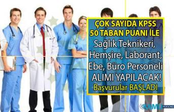KPSS 50 taban puanı ile Araştırma Hastanesine 97 sağlık personeli Alımı Yapılacak! Peki Başvuru şartları nelerdir?