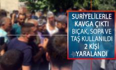 Manisa'nın Turgutlu İlçesinde Suriyelilerle Çıkan Bıçaklı, Sopalı ve Taşların Kullanıldığı Kavgada 2 Kişi Yaralandı!