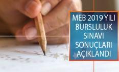 Milli Eğitim Bakanlığı (MEB) 2019 İlk Ve Ortaöğretim Bursluluk Sınavı (İOKBS) Sonuçları Açıklandı! Bursluluk Sınav Sonuçları Sorgulama Ekranı