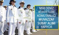 Milli Savunma Bakanlığı (MSB) Deniz Kuvvetleri Komutanlığına Dış Kaynaktan Öğretmen Ve Mühendis Sınıfı Muvazzaf Subay Alımı Yapılıyor!