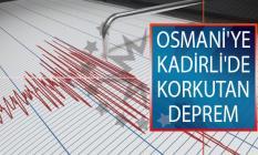 Osmani'ye Kadirli'de Deprem! 25 Temmuz AFAD, Kandilli Rasathanesi Son Depremler Listesi!