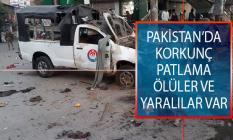 Pakistan'ın Belücistan Eyaletine Bağlı Ketta Kentinde Patlama! Ölüler ve Yaralılar Var