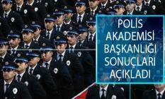 Polis Akademisi Başkanlığı Başpolis Memuru ve Kıdemli Başpolis Memuru Uzaktan Eğitim Sonuçları Açıklandı!