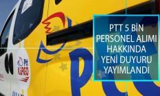 PTT 2018/1 5 Bin Personel Alımı Kapsamında 154 Yedek Aday İçin Düzenlediği Psikometrik İnceleme Test Sonuçlarını Açıkladı!