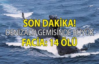 Rus Deniz Kuvvetlerine ait bir denizaltı gemisinde çıkan yangında 14 denizci asker öldü
