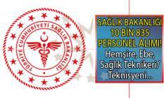 Sağlık Bakanlığı 10 bin 835 personel alımı ne zaman başlıyor? Hemşire, ebe ve sağlık teknikeri/teknisyeni alımı başvuru şartları nelerdir?