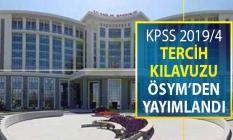 Sağlık Bakanlığı 12 Bin Kamu Personeli Alımı İçin KPSS 2019/4 Tercih Kılavuzu Yayımlandı