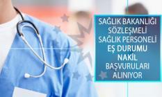 Sağlık Bakanlığı 2019 Yılı 2. Dönem Sözleşmeli Sağlık Personelinin Eş Durumu Nakil Başvurusunu PBS Üzerinden Almaya Başladı!