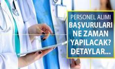Sağlık Bakanlığı 29 Bin 869 Kamu Personeli Alımı Başvuru Tarihleri ve Genel Şartları Neler?