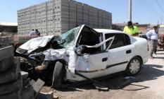 Son Dakika! Diyarbakır-Silvan karayolunda trafik kazası 1 ölü 1 yaralı