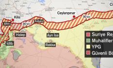 Suriye sınırında terör koridoruna karşı 'Barış Koridoru' ifadesi kullanıldı!