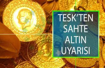 TESK Başkanı Bendevi Palandöken'den Sahte Altın Uyarısı!