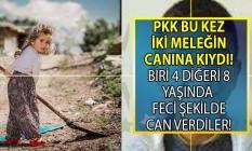 Tunceli'nin Ovacık ilçesinde terör örgütü PKK iki çocuğun canına kıydı!