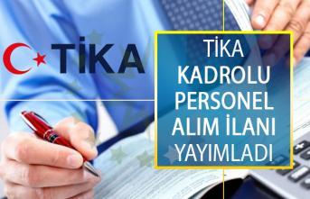 Türk İşbirliği ve Koordinasyon Ajansı Başkanlığı (TİKA) Kadrolu Personel Alımı Yapıyor! Sekreter, Muhasebeci, Garson, Sıhhi Tesisatçı ve Kütüphaneci Alımı İş İlanı
