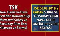 Türk Silahlı Kuvvetleri (TSK) 2019 yılı Bando Sınıfı Muvazzaf Subay ve Astsubay Alımı başvuru şartları, başvuru kılavuzu ve Formu!
