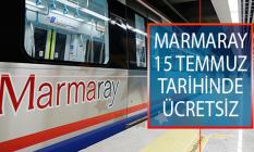 Ulaştırma Bakanı Turhan Açıkladı! Marmaray 15 Temmuz'da Ücretsiz