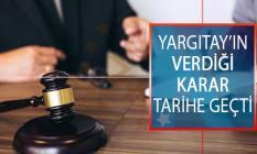 Yargıtay'ın Verdiği Karar Tarihe Geçti: Şüpheden Suç Doğmayacağına Hükmedildi!