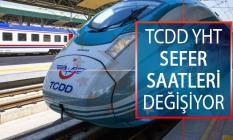 Yüksek Hızlı Tren (YHT) Sefer Saatleri Değişiyor! 2019 TCDD YHT Sefer Saatleri Listesi