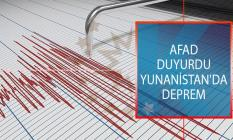 Yunanistan'da Deprem! 29 Temmuz 2019 Tarihli AFAD, Kandilli Rasathanesi Son Depremler Listesi