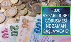 2020 Asgari Ücret Zammı Görüşmeleri Ne Zaman Başlayacak? 2020'de Asgari Ücret Ne Kadar Olacak?