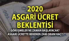 2020 Asgari ücret zammı ne kadar olacak? Görüşmeler ne zaman başlayacak?