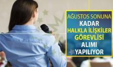 Ağustos Ayının Sonuna Kadar İŞKUR Üzerinden Halkla İlişkiler Görevlisi (Gazete) Alınıyor ! 22 Ağustos İŞKUR İş İlanları
