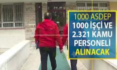 Aile Bakanlığı 1000 ASDEP, 1000 İşçi ve 2 Bin 321 Sözleşmeli Kamu Personeli Alımı Yapacak