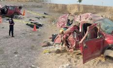 Aksaray'da Otomobil Devrildi! Aynı Aileden Biri Çocuk 3 Kişi Öldü, 4 Kişi Yaralandı!