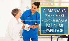 Almanya İşçi Alımı Başvuru Şartları ve Kadro Dağılımı! Almanya 2500, 3000 Euro Maaşla İşçi Alımı Yapıyor