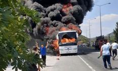 Balıkesir'de 5 Kişinin Hayatını Kaybettiği Otobüs Yangını Faciasında 2 Otobüs Şoförü Tutuklandı!