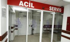 Balıkesir'de, Polis Motosikletiyle Otomobil Çarpıştı! 1 Polis Memuru Yaralandı!