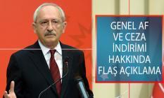CHP Lideri Kemal Kılıçdaroğlu'ndan Genel Af Ve Ceza İndirimi Hakkında Flaş Açıklama: Adalet Reformunu Getirin Meclis'ten Geçirelim
