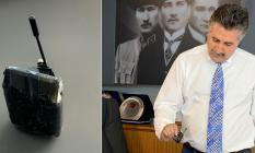 CHP'nin İzmir Bayraklı Belediye Başkanı Serdar Sandal'ın Makam Odasında Dinleme Cihazı Bulundu!