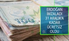 Cumhurbaşkanı Erdoğan İmzaladı! Bağ-Kur'lu Ve GSS Yükümlüsü Olanlar 31 Aralık'a Kadar Hastanelerden Ücretsiz Yararlanabilecek!