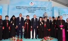 Cumhurbaşkanı Erdoğan'ın Kilisenin temel atma töreni için Yunanistan'a örnek olmalı açıklaması