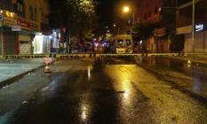Diyarbakır'ın Kayapınar İlçesinde Hareketli Anlar! Teröristler Yolcu Minibüsünü Ateşe Verdi