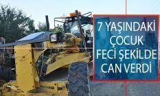 Edirne'nin Keşan İlçesinde Feci Olay! Greyder Altında Kalan 7 Yaşındaki Çocuk Hayatını Kaybettİ