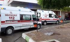 Gaziantep'in Nizip İlçesinde Motosiklet Otobüs Durağına Çarptı! Ölü ve Yaralı Var