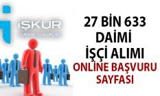 İŞKUR 15 gün içinde 27 bin 633 daimi işçi alımı yapacak! 12 Ağustos iş ilanları