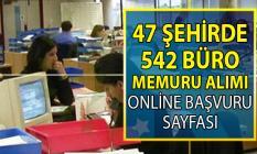 İŞKUR 47 şehirde KPSS şartsız 542 büro memuru alımı için yeni iş ilanları yayımladı!